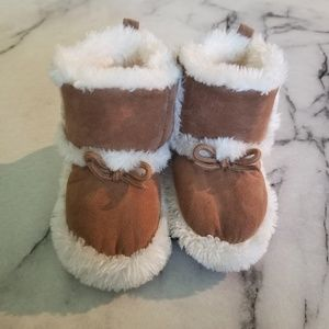 Other - Brown Baby Booties